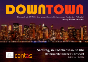 2010 Downtown Plakat